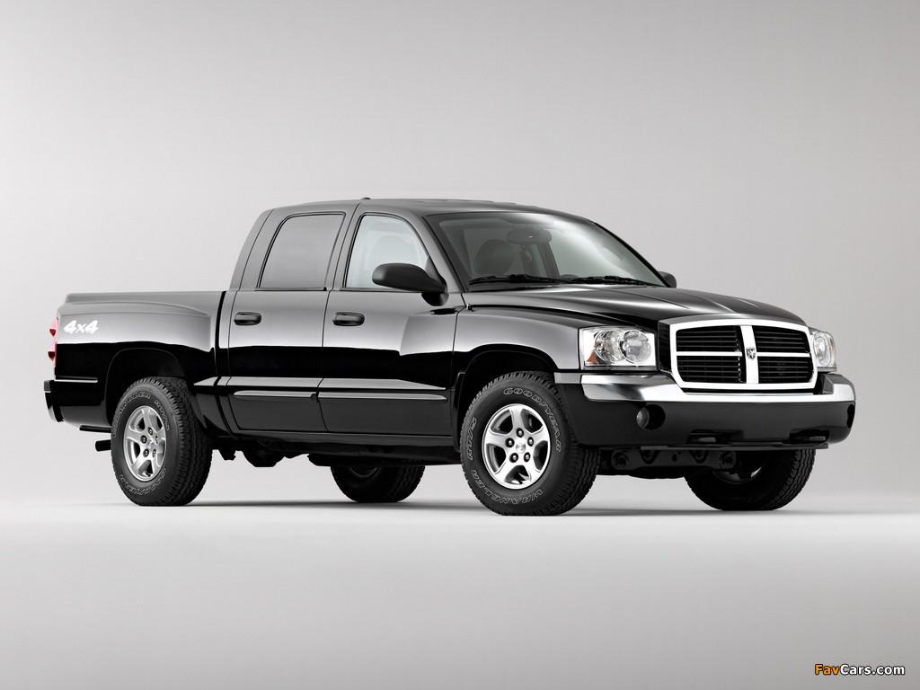 Dodge Dakota Laramie Quad Cab 2004–07 images (1024 x 768)