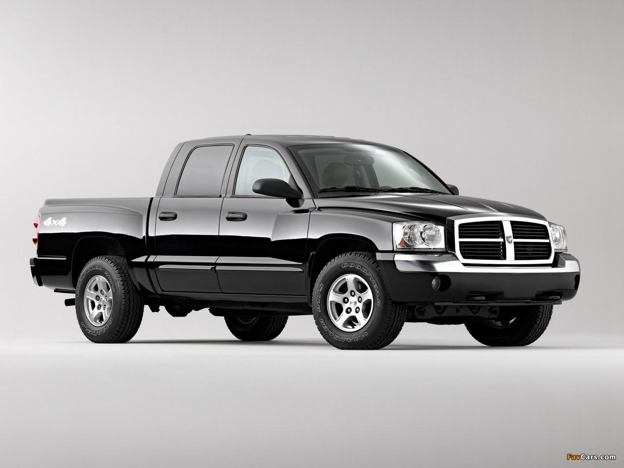 Dodge Dakota Laramie Quad Cab 2004–07 images (1280 x 960)