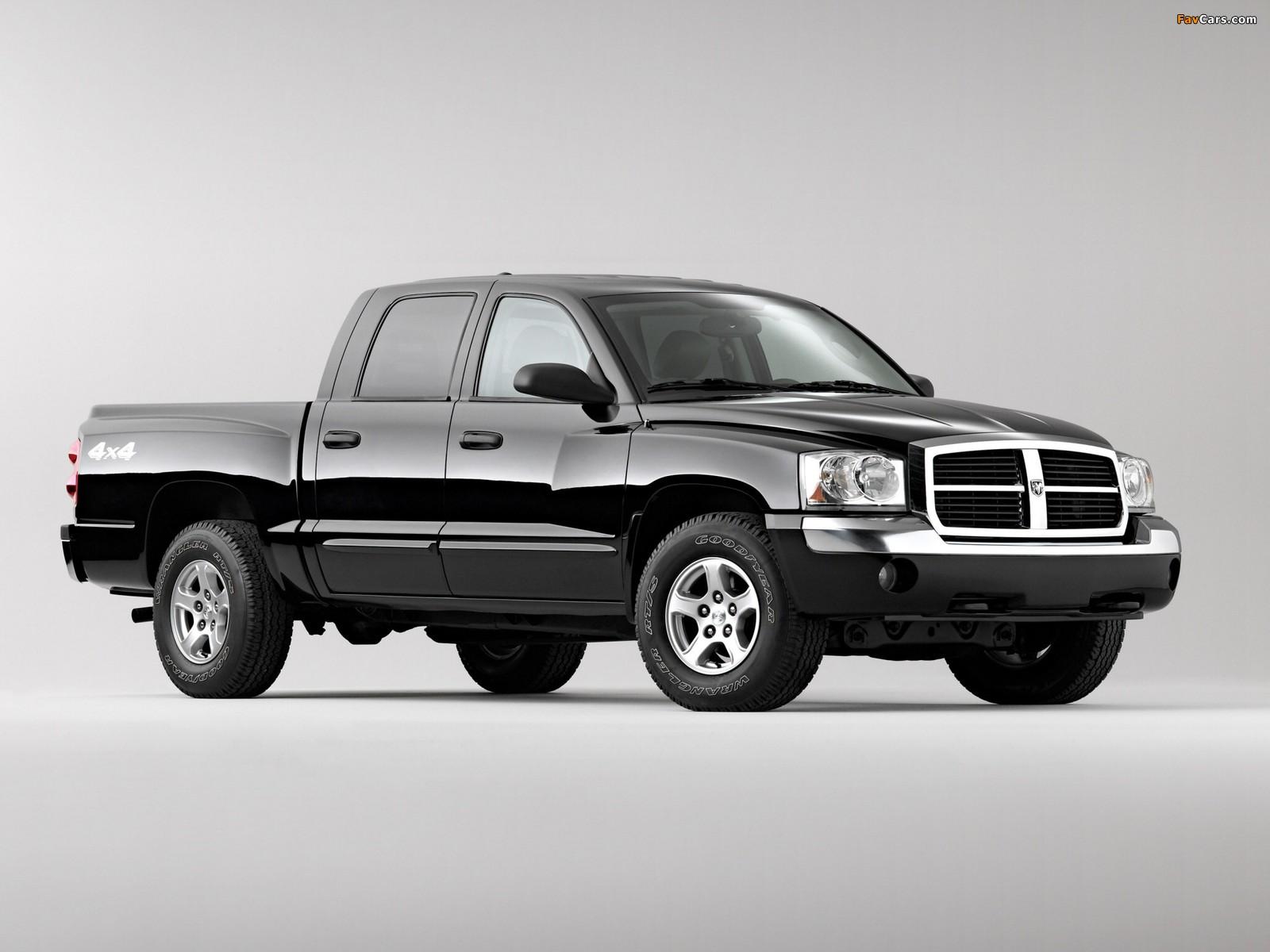 Dodge Dakota Laramie Quad Cab 2004–07 images (1600 x 1200)