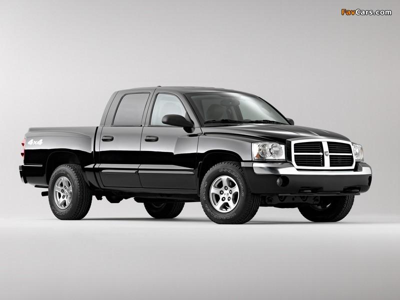 Dodge Dakota Laramie Quad Cab 2004–07 images (800 x 600)