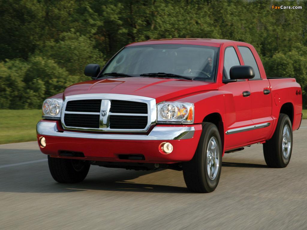 Dodge Dakota Quad Cab 2004–07 photos (1024 x 768)