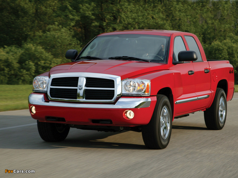 Dodge Dakota Quad Cab 2004–07 photos (800 x 600)