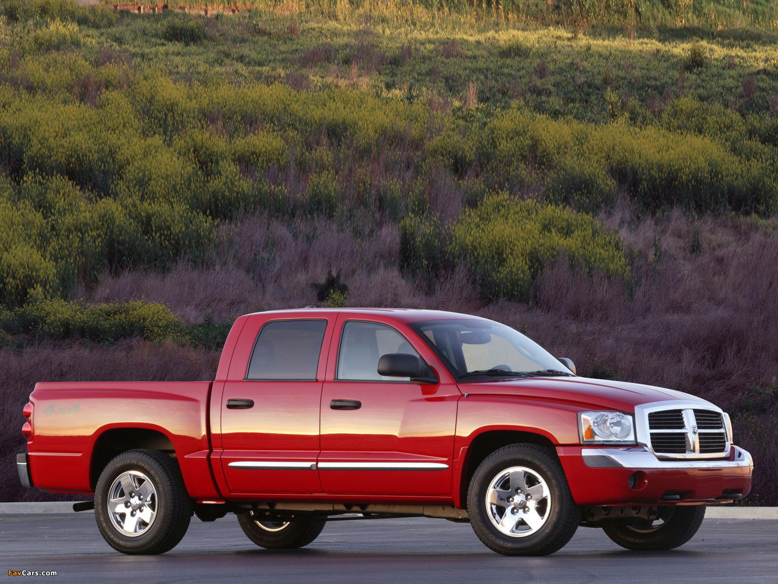Dodge Dakota Quad Cab 2004–07 pictures (1600 x 1200)