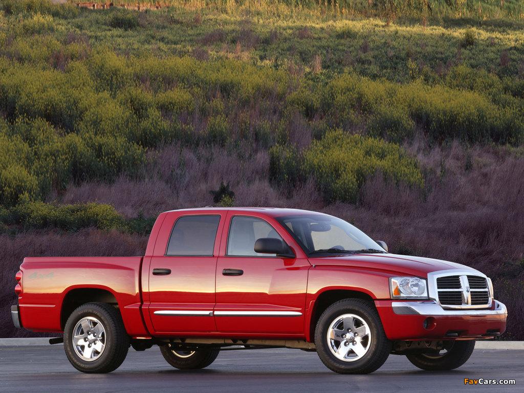 Dodge Dakota Quad Cab 2004–07 pictures (1024 x 768)