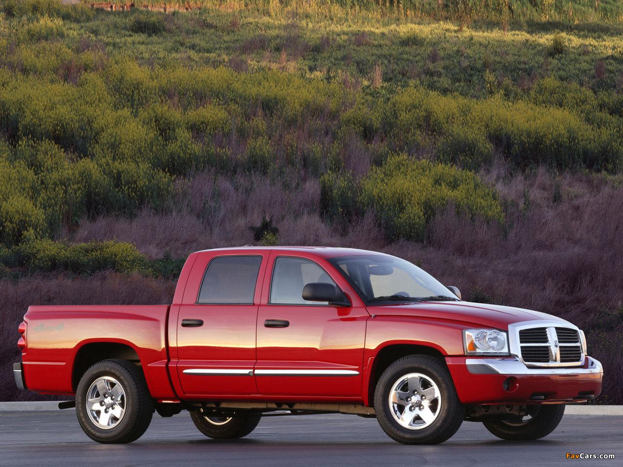 Dodge Dakota Quad Cab 2004–07 pictures (1280 x 960)