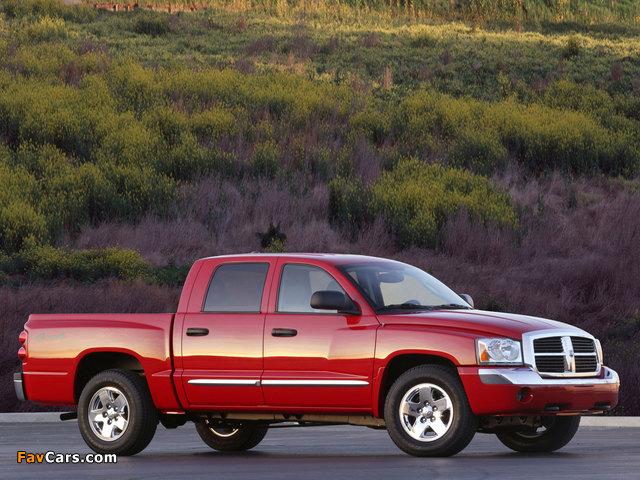 Dodge Dakota Quad Cab 2004–07 pictures (640 x 480)