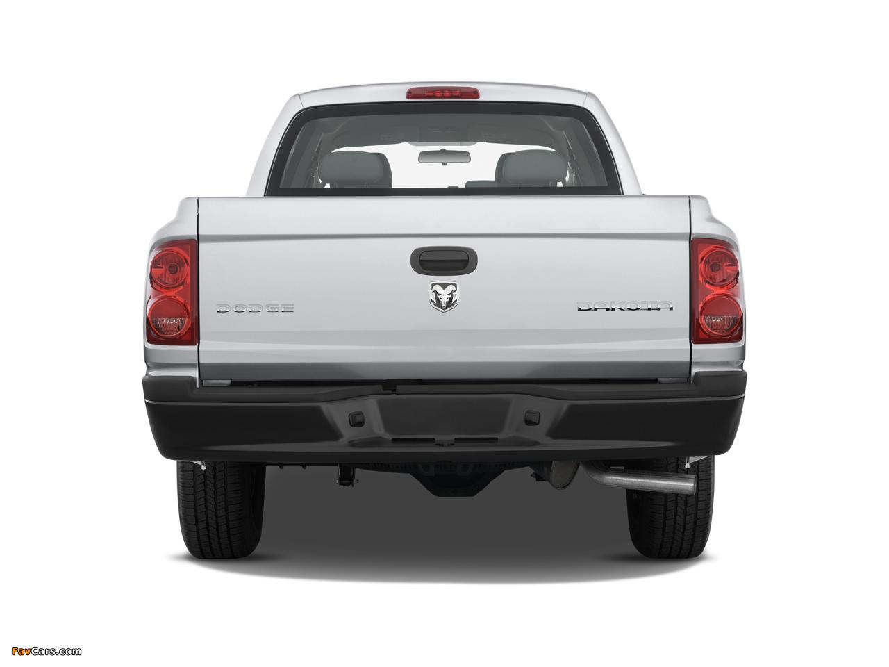 Dodge Dakota Extended Cab 2007–11 photos (1280 x 960)