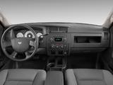 Dodge Dakota Extended Cab 2007–11 photos