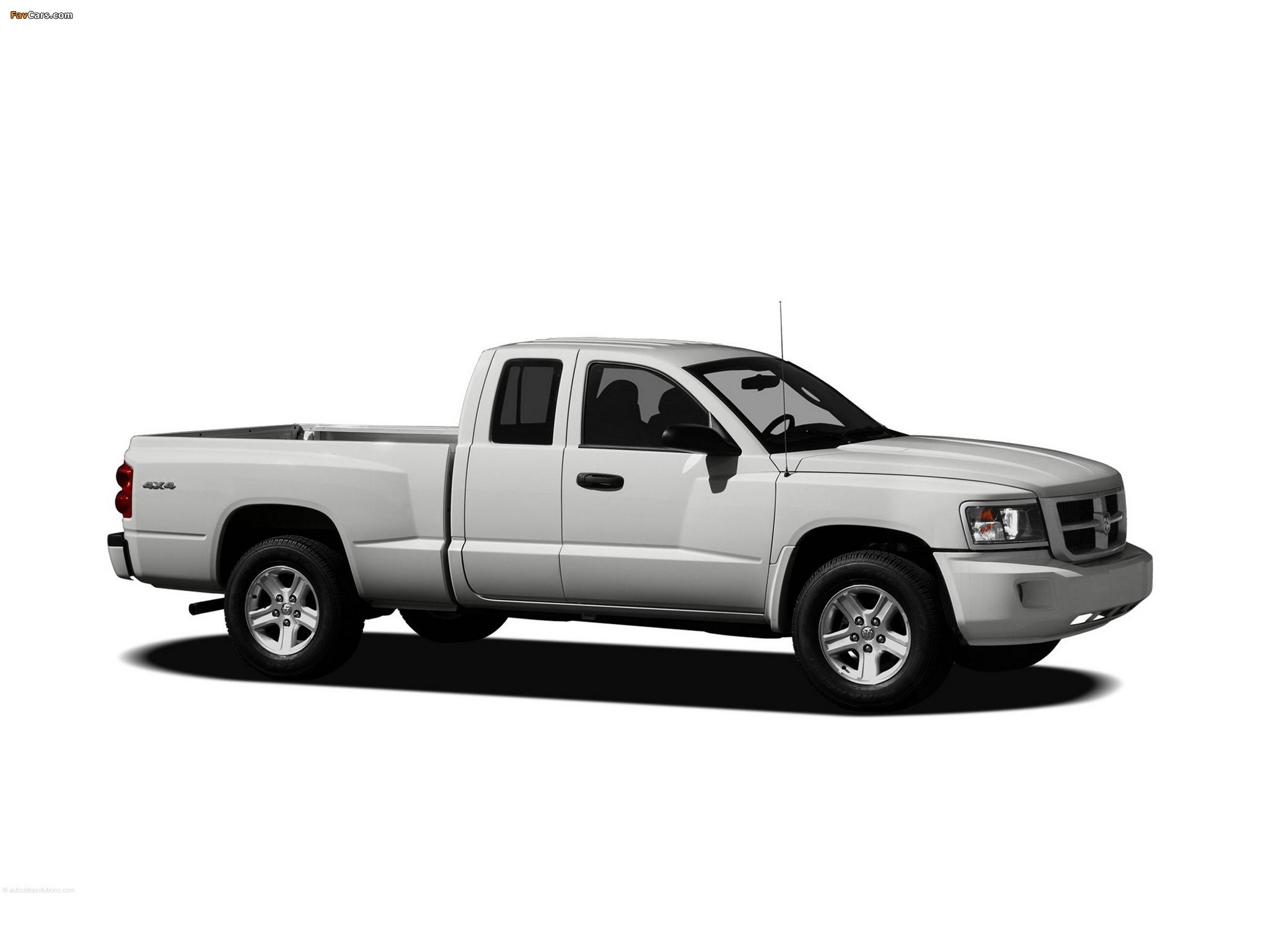 Dodge Dakota Extended Cab 2007–11 pictures (2048 x 1536)