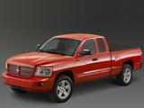 Dodge Dakota Sport Extended Cab 2007–08 pictures