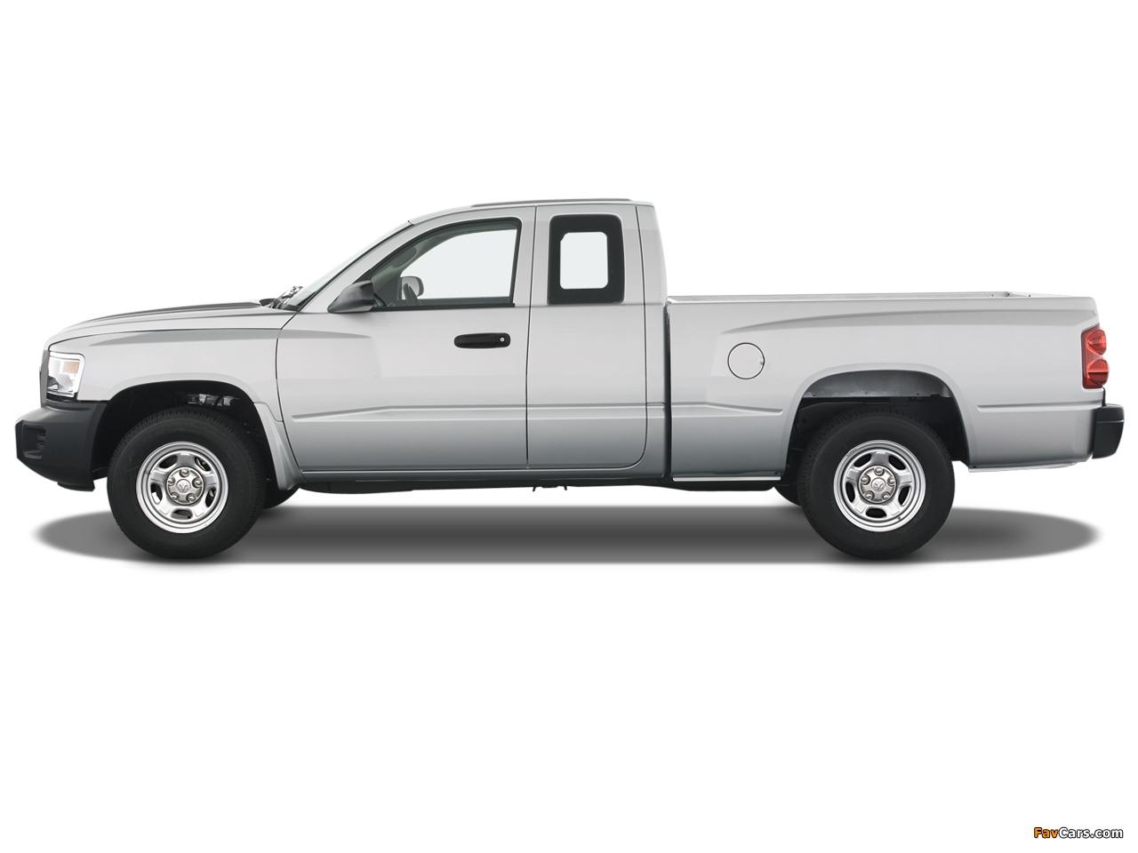 Dodge Dakota Extended Cab 2007–11 wallpapers (1280 x 960)