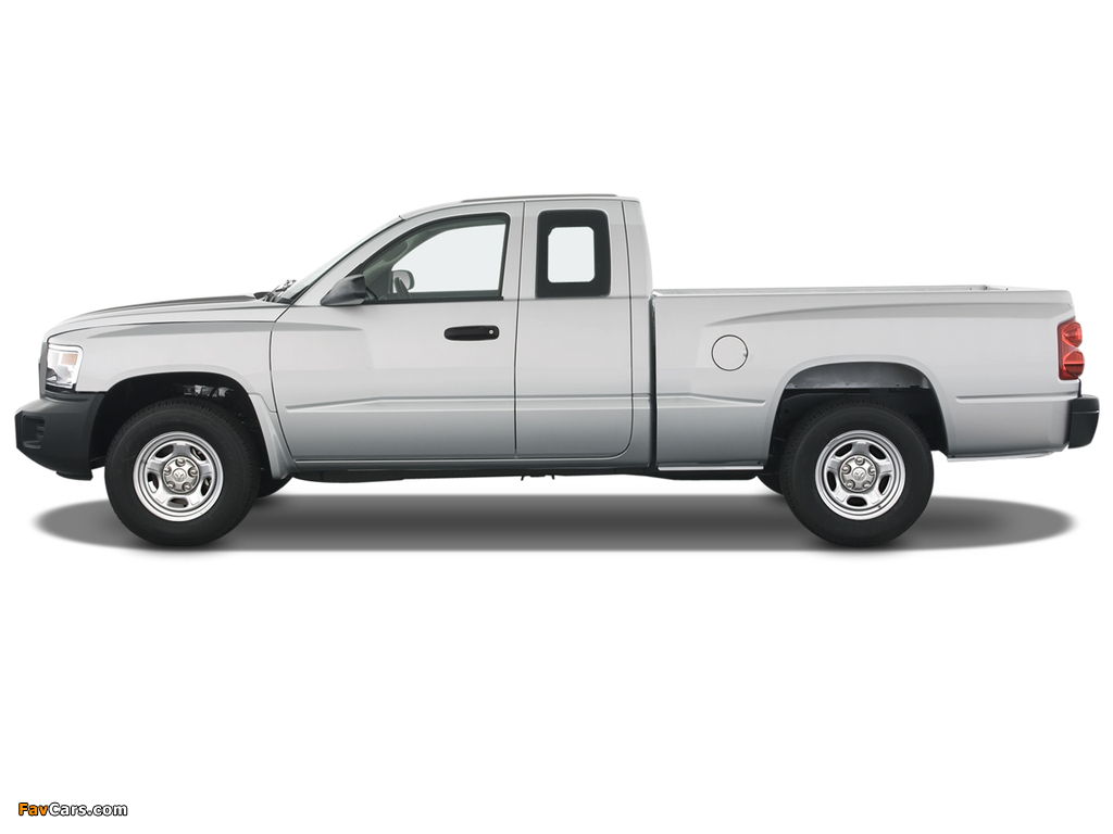 Dodge Dakota Extended Cab 2007–11 wallpapers (1024 x 768)