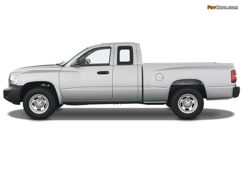 Dodge Dakota Extended Cab 2007–11 wallpapers (800 x 600)