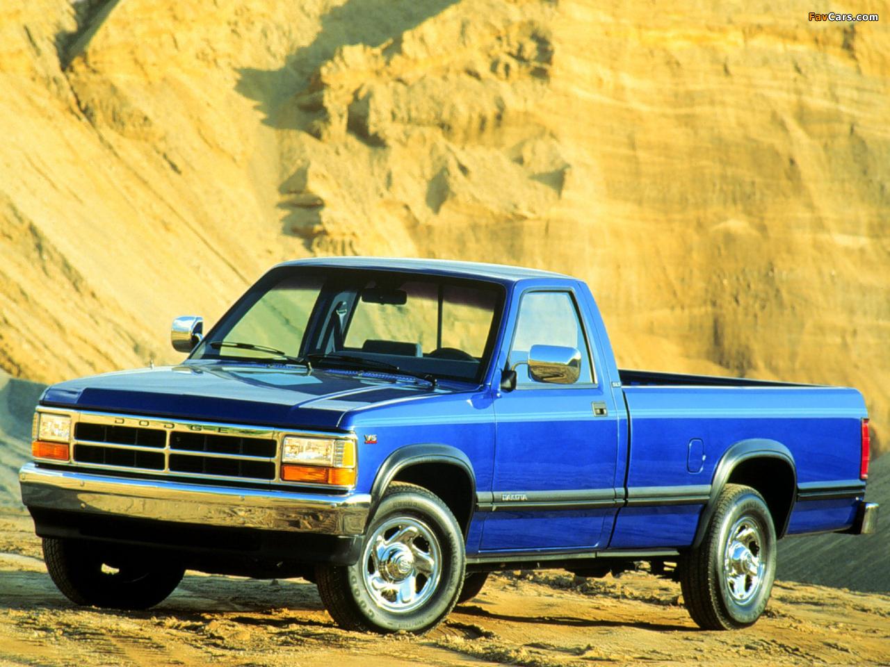 Images of Dodge Dakota Regular Cab 1991–96 (1280 x 960)
