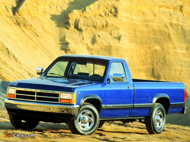 Images of Dodge Dakota Regular Cab 1991–96 (640 x 480)