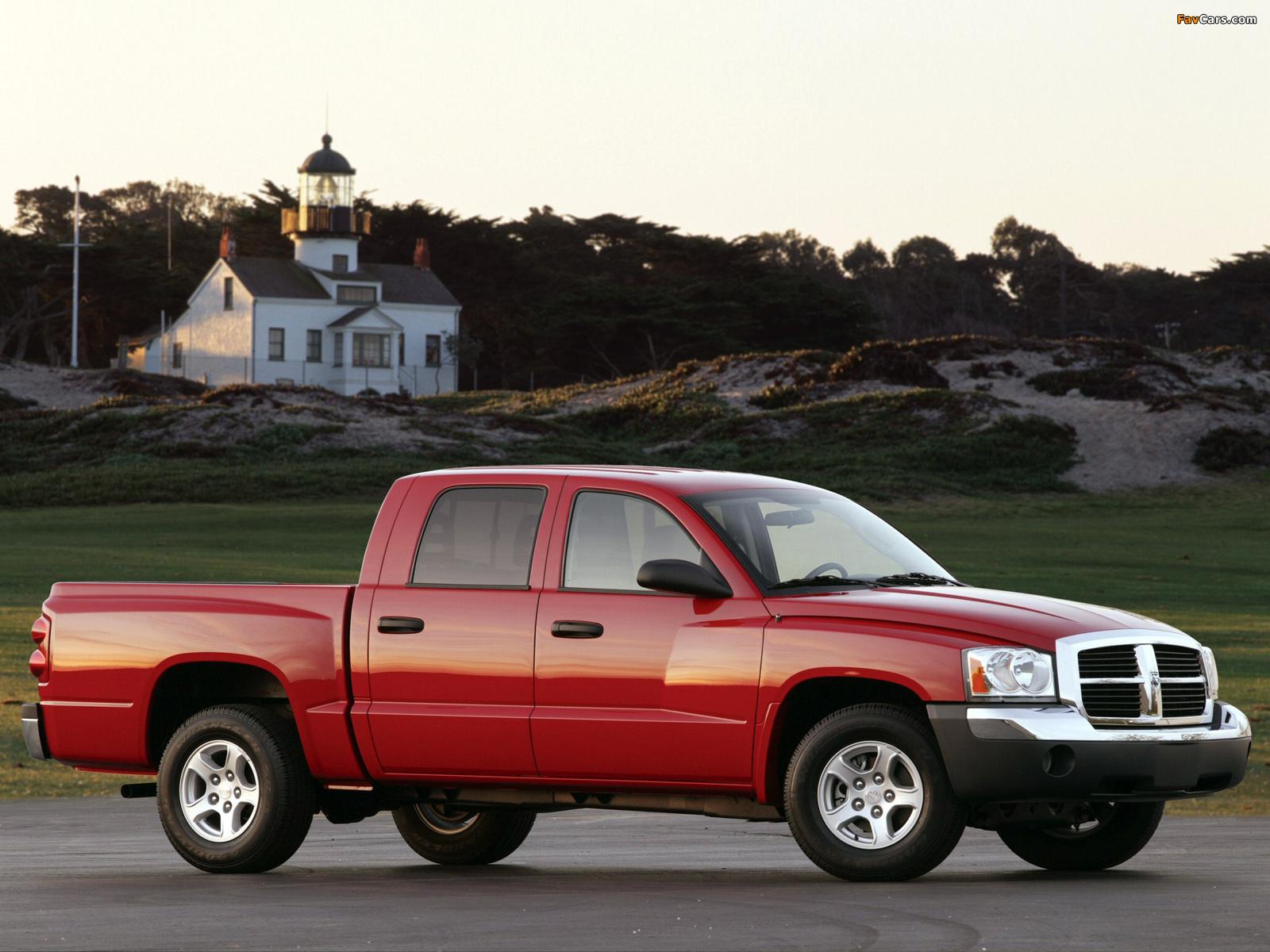 Images of Dodge Dakota Quad Cab 2004–07 (1600 x 1200)