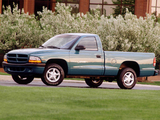 Photos of Dodge Dakota Sport Regular Cab 1997–2004