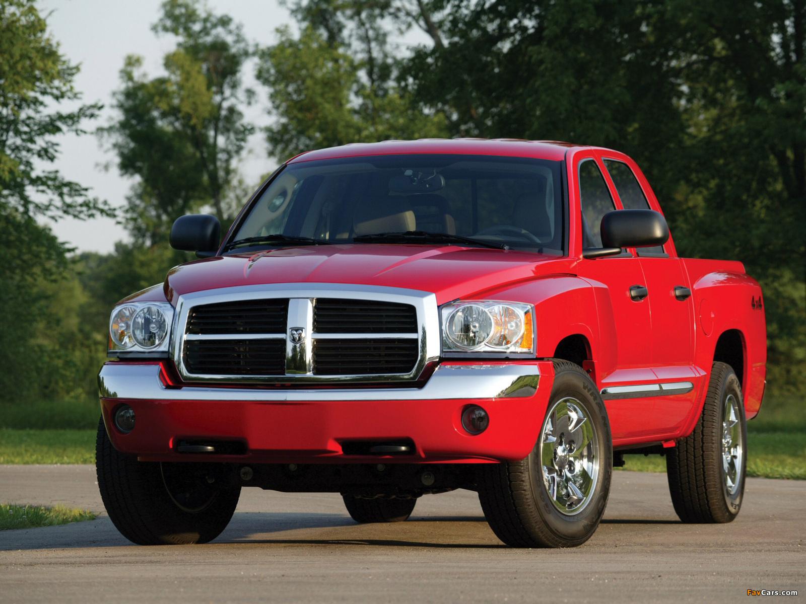 Photos of Dodge Dakota Quad Cab 2004–07 (1600 x 1200)
