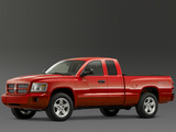 Photos of Dodge Dakota Sport Extended Cab 2007–08