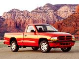 Pictures of Dodge Dakota Sport Regular Cab 1997–2004