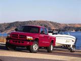 Pictures of Dodge Dakota Sport Quad Cab 2000–04
