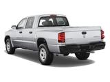 Pictures of Dodge Dakota Crew Cab 2007–11