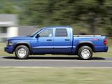 Pictures of Dodge Dakota TRX4 Crew Cab 2007–08
