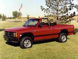 Dodge Dakota Convertible 1989 wallpapers