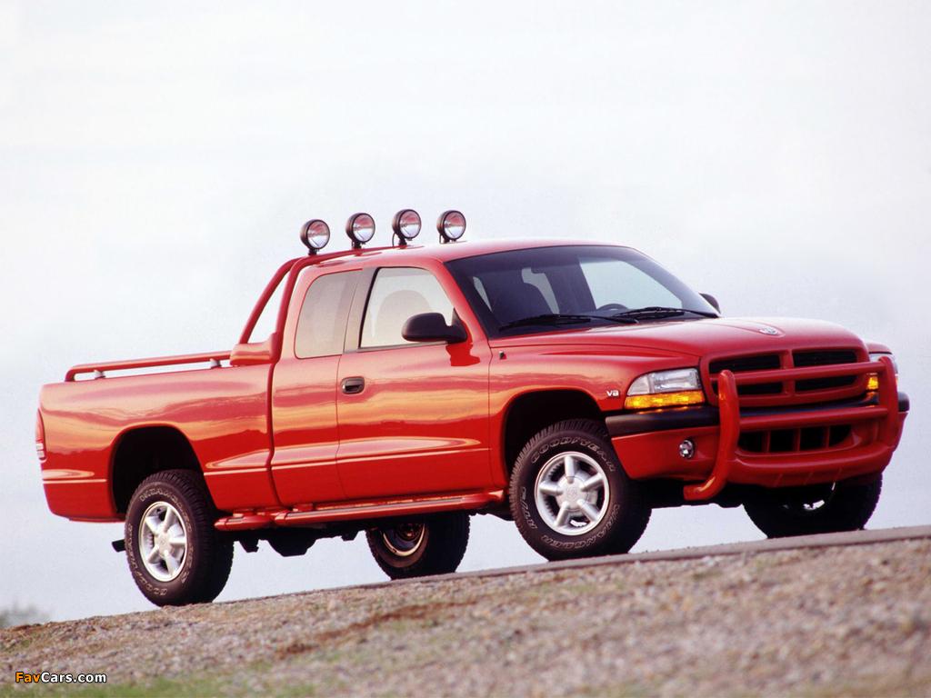 Dodge Dakota Club Cab 1997–2004 wallpapers (1024 x 768)