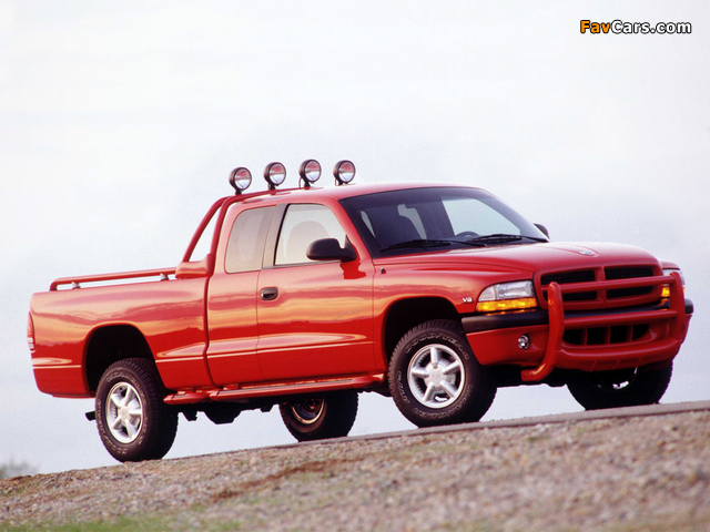 Dodge Dakota Club Cab 1997–2004 wallpapers (640 x 480)