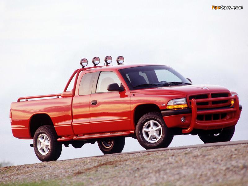 Dodge Dakota Club Cab 1997–2004 wallpapers (800 x 600)