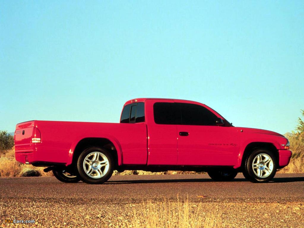 Dodge Dakota R/T Club Cab 1998–2004 wallpapers (1024 x 768)