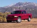 Dodge Dakota Sport Quad Cab 2000–04 wallpapers