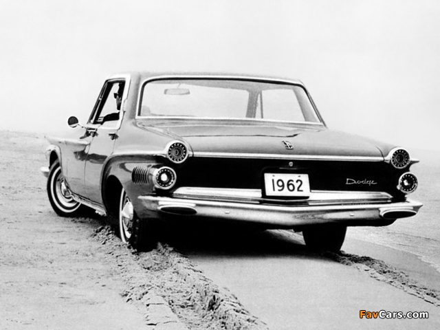 Dodge Dart 440 4-door Hardtop 1962 wallpapers (640 x 480)