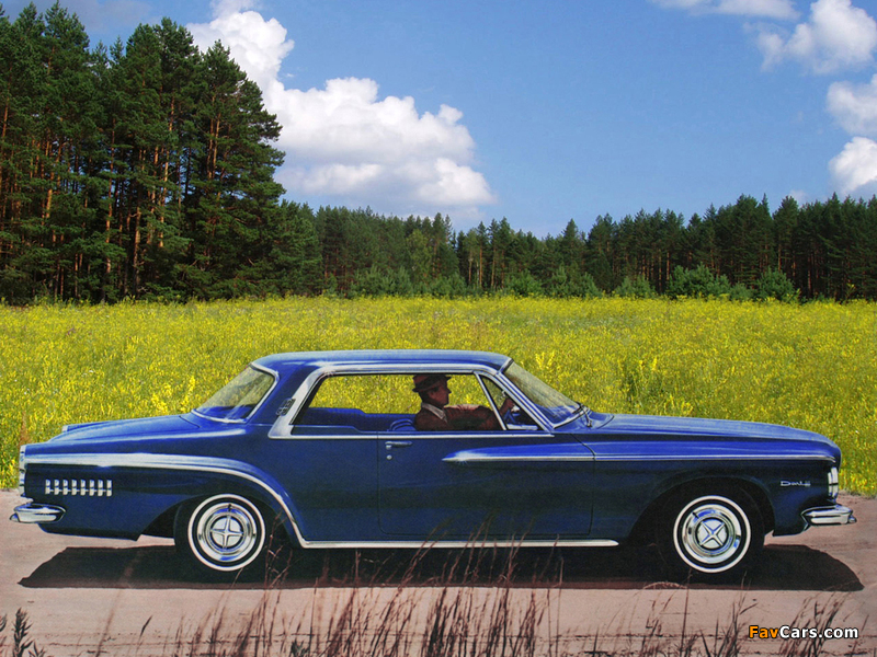 Dodge Dart 440 Hardtop Coupe 1962 wallpapers (800 x 600)