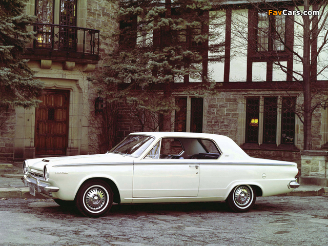 Dodge Dart GT Hardtop Coupe 1964 photos (640 x 480)