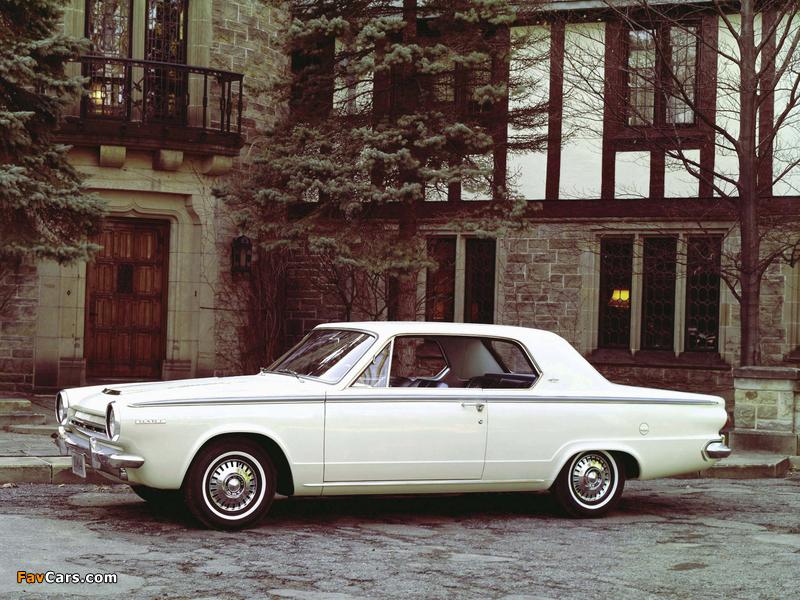 Dodge Dart GT Hardtop Coupe 1964 photos (800 x 600)