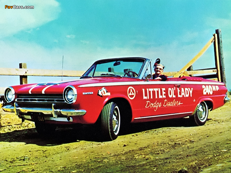 Dodge Dart GT Convertible 1964 pictures (800 x 600)