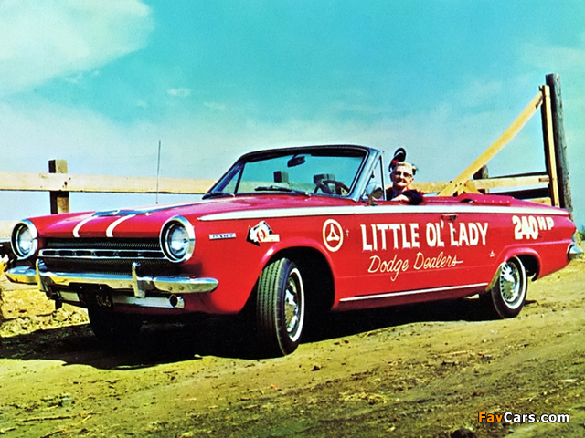 Dodge Dart GT Convertible 1964 pictures (640 x 480)