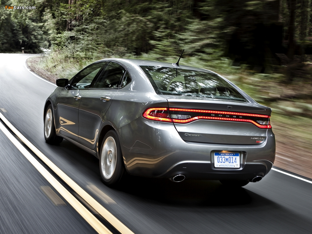 Dodge Dart Limited 2012 pictures (1024 x 768)