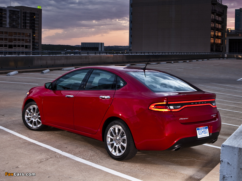 Dodge Dart Limited 2012 pictures (800 x 600)