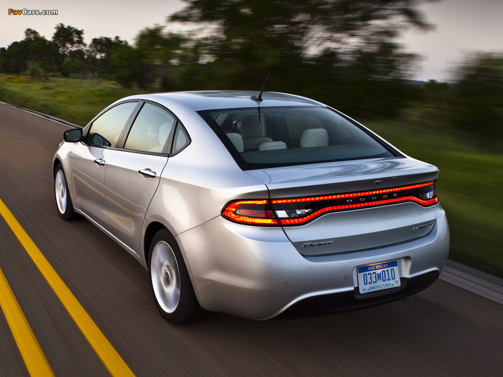 Dodge Dart Limited 2012 wallpapers (1024 x 768)