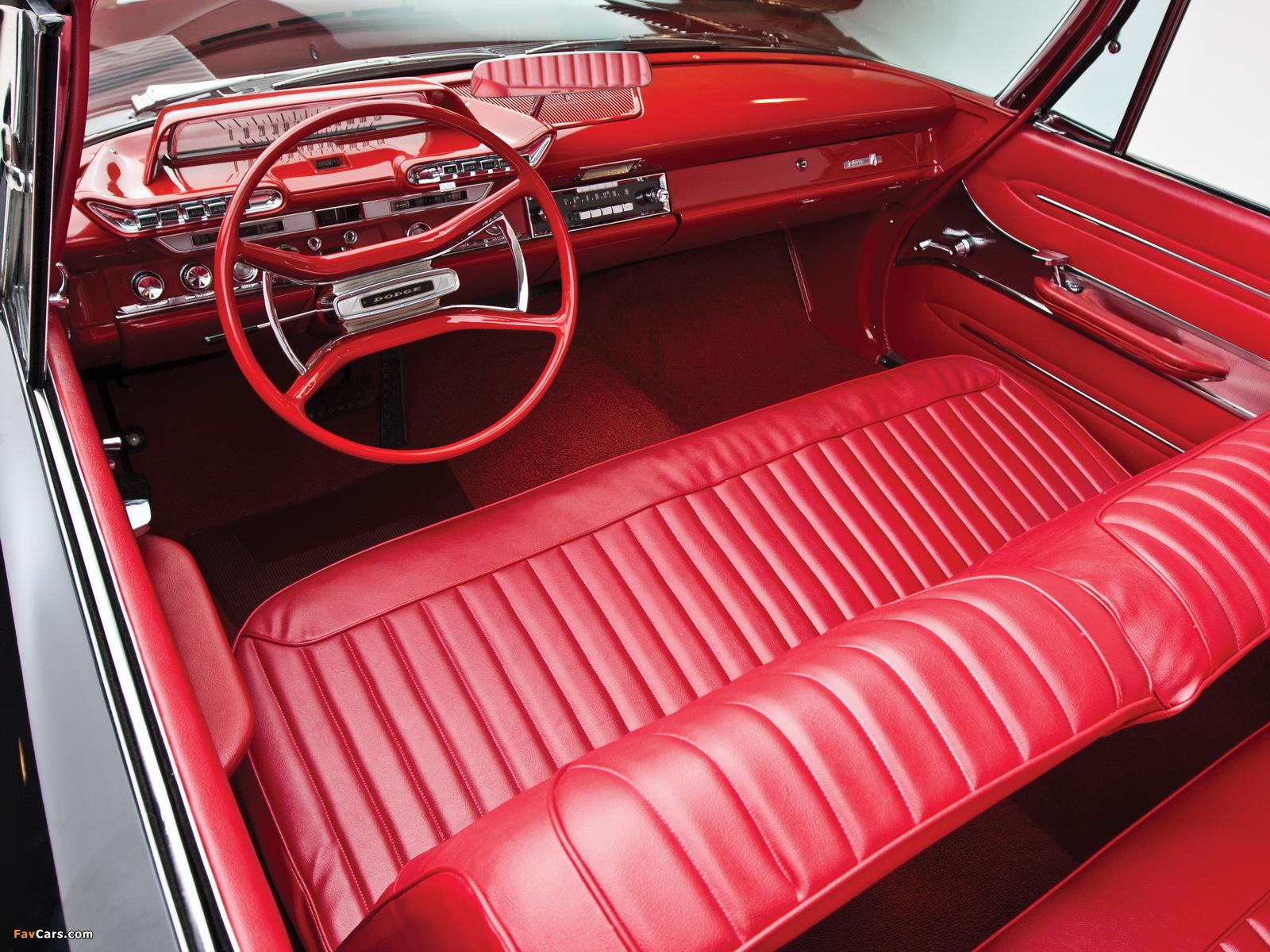 Images of Dodge Dart Phoenix D-500 Convertible 1961 (1600 x 1200)