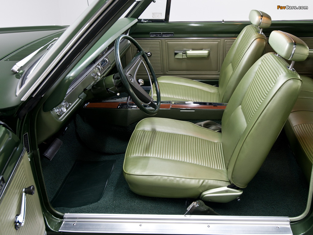 Images of Dodge Dart GTS 440 (LS23) 1969 (1024 x 768)