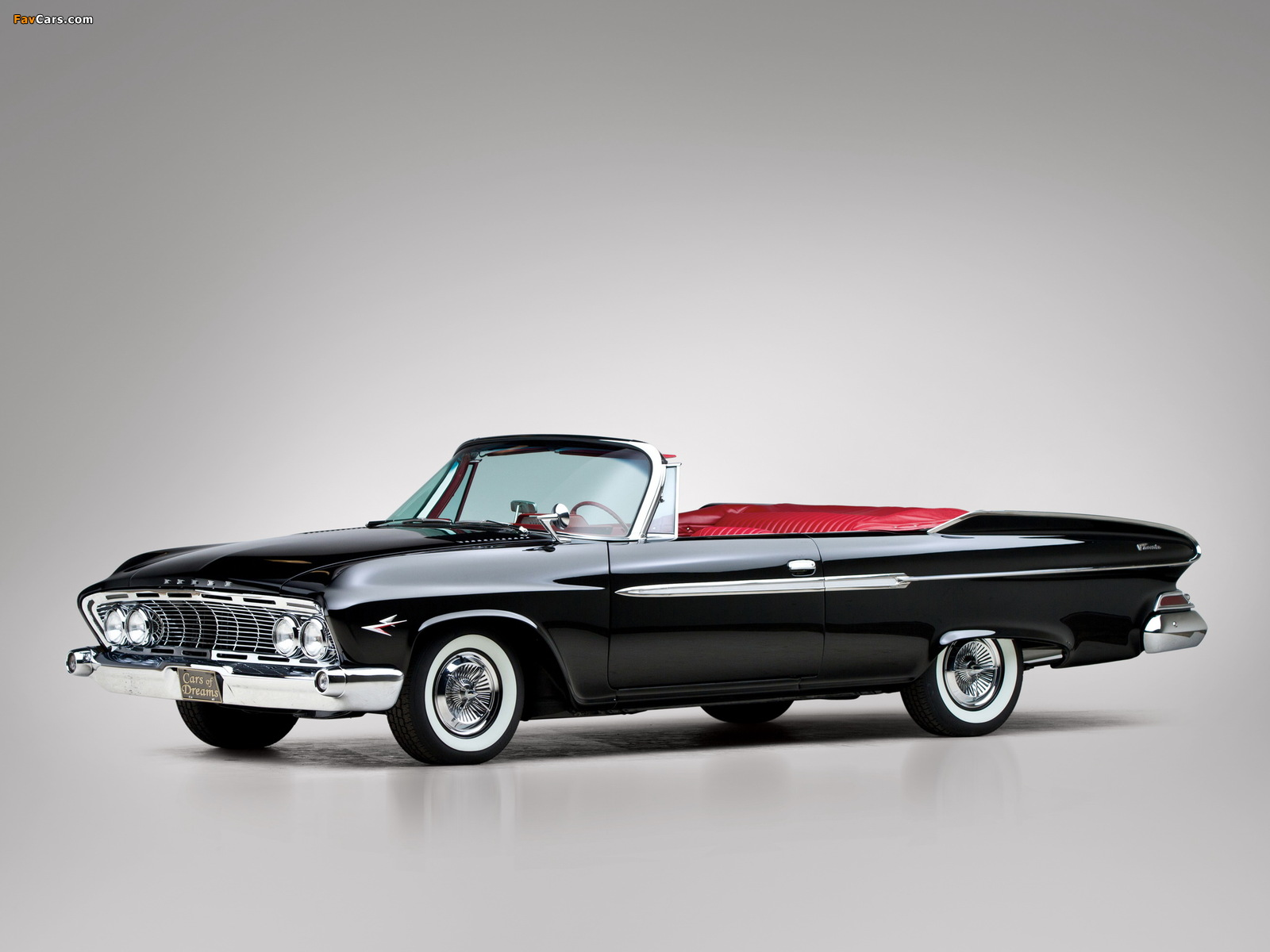 Photos of Dodge Dart Phoenix D-500 Convertible 1961 (1600 x 1200)