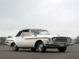 Pictures of Dodge Dart 440 Convertible 1962