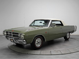 Pictures of Dodge Dart GTS 340 Convertible (LS27) 1968
