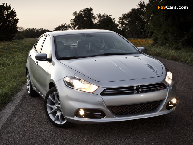 Pictures of Dodge Dart Limited 2012 (640 x 480)