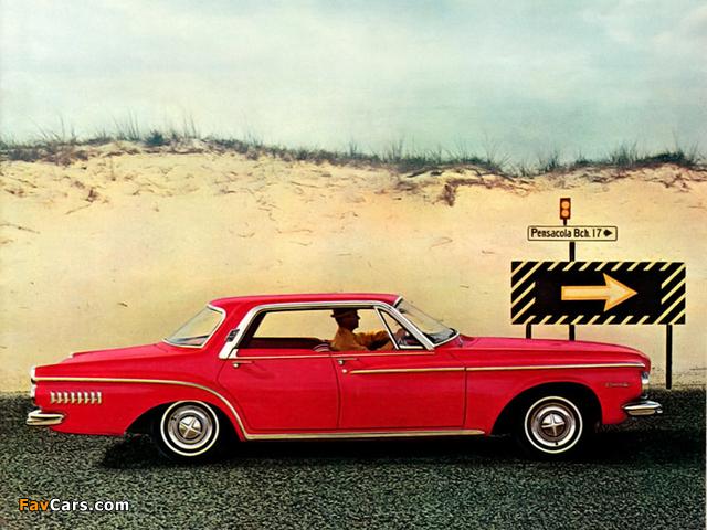 Dodge Dart 440 4-door Hardtop 1962 wallpapers (640 x 480)
