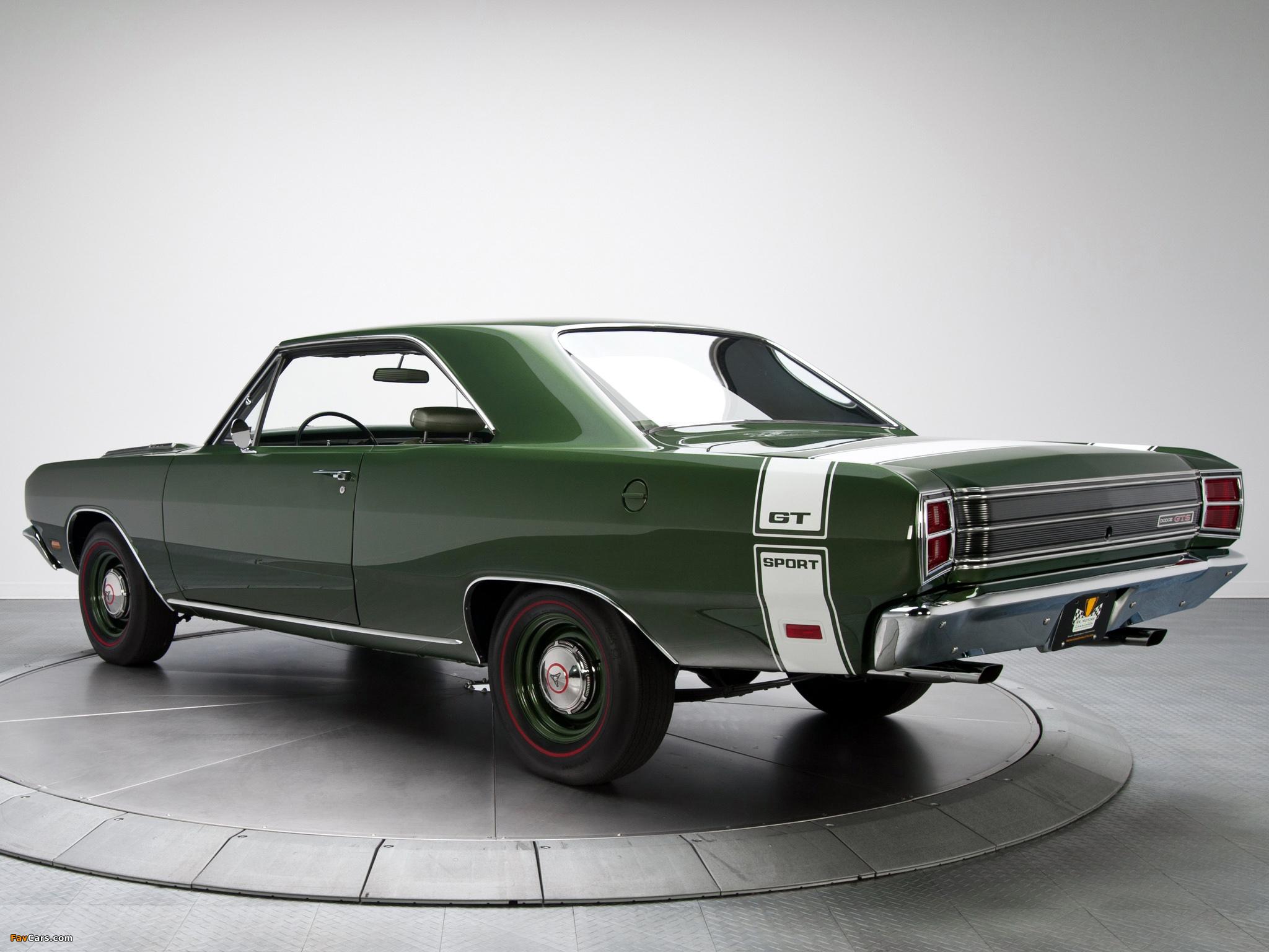 Dodge Dart GTS 440 (LS23) 1969 wallpapers (2048 x 1536)